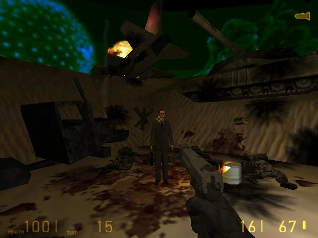 Half-Life 2 HUD for Half-Life 1