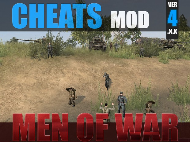 Cheats Mod - Men of War