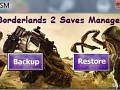 Borderlands 2 Saves Manager for Vista/7