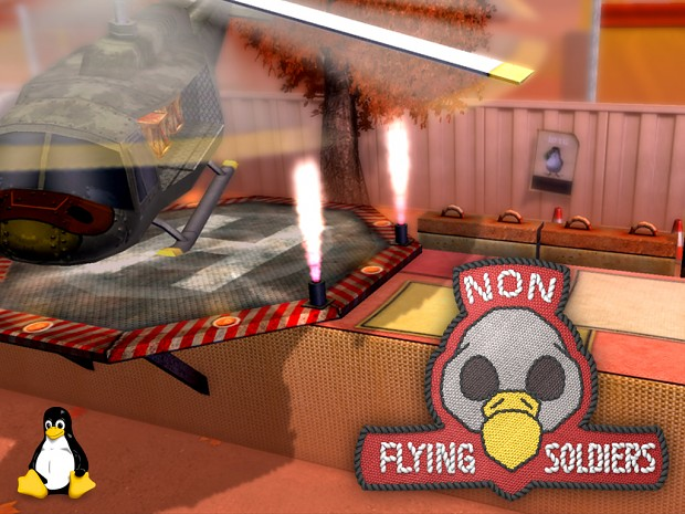 Non Flying Soldiers Demo - Linux