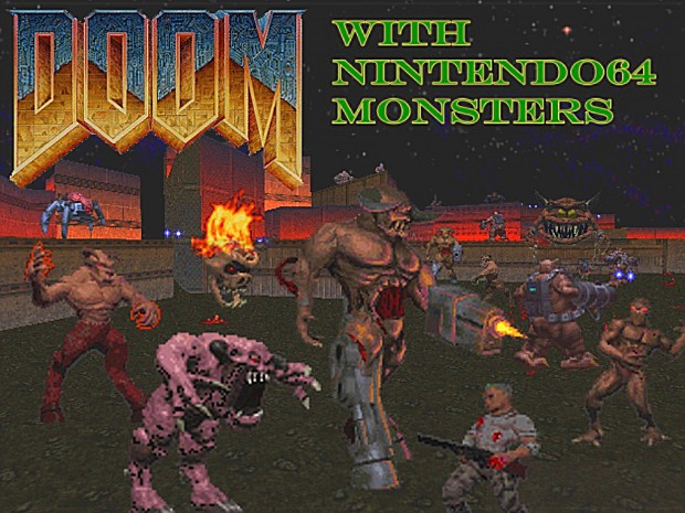 DOOM64 Monster Replacer V07