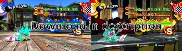 Ice Sonic Generations V.1.0
