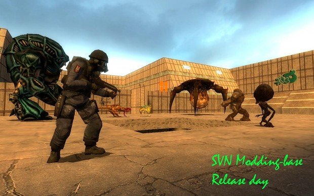 SVN singleplayer mod-base