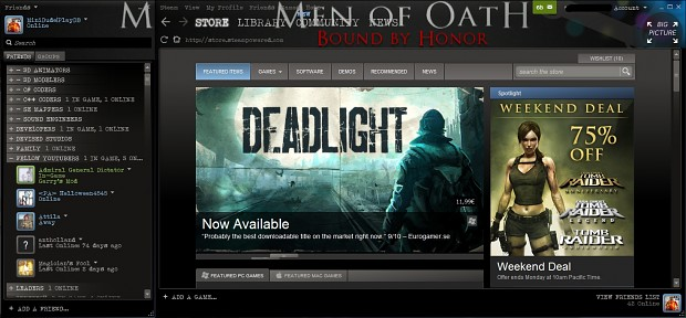 Men of Oath - Steam Skin