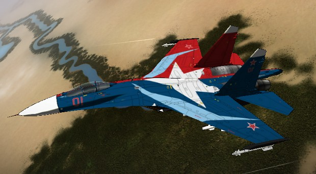 Su-27S LockOn Star
