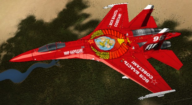 Su-27S October Revolution Anniversary