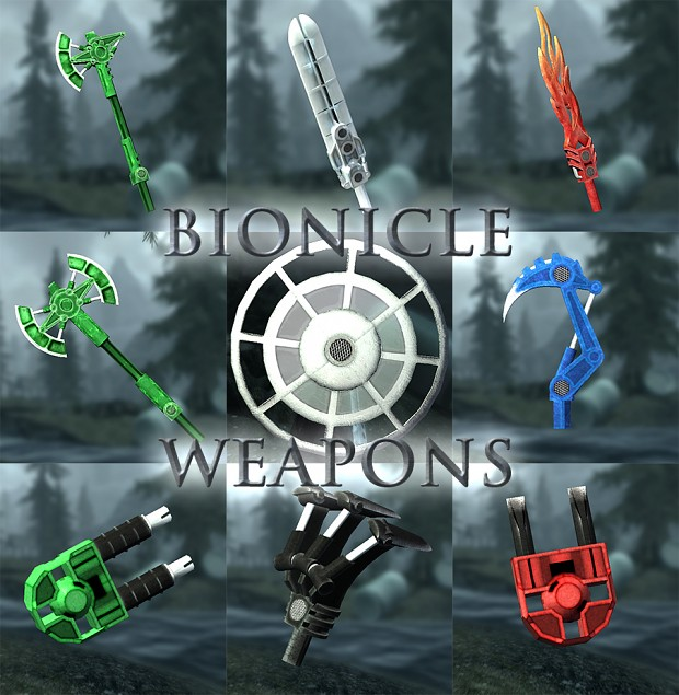 Bionicle Weapons plug-in