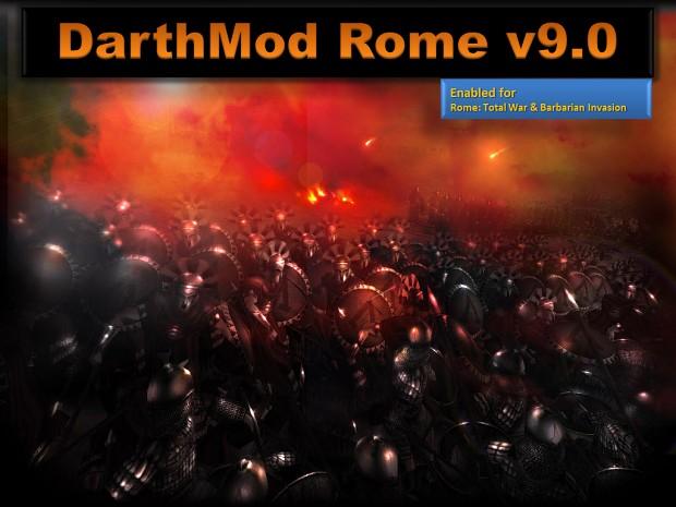 DarthMod Rome v9.0.1