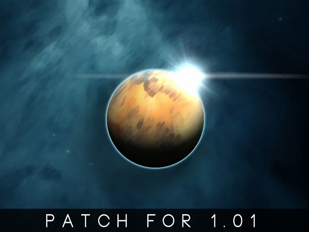 Infinite Space 1.01 Patch for Rebellion 1.1