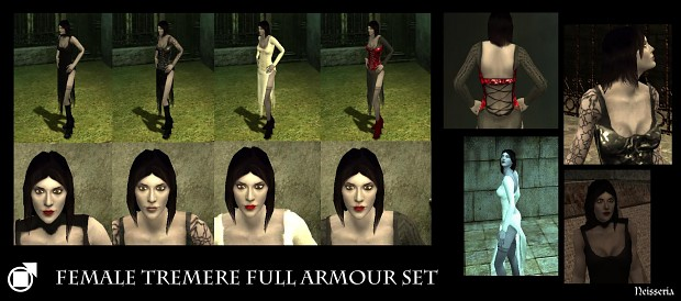VtMB Female Tremere Full Armour Set