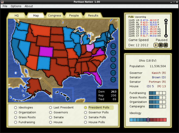 Partisan Nation 1.07 (Mac OS X 10.6 or later)