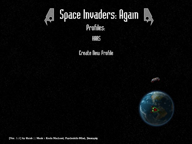 Space Invaders: Again (English)