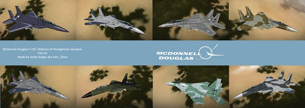 F-15C Nations of Strangereal skin pack