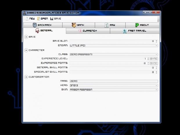 Borderlands 2 Save Editor Revision 125
