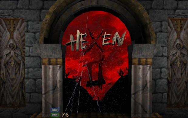 Hexen 2 - 3D menu mod