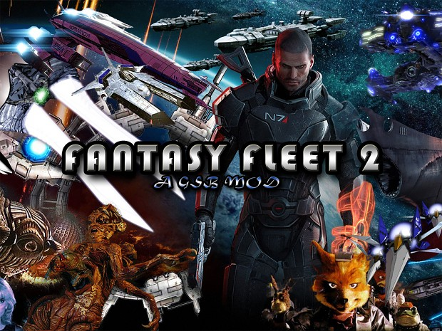 Fantasy Fleet 2 (Mass Effect) NEW