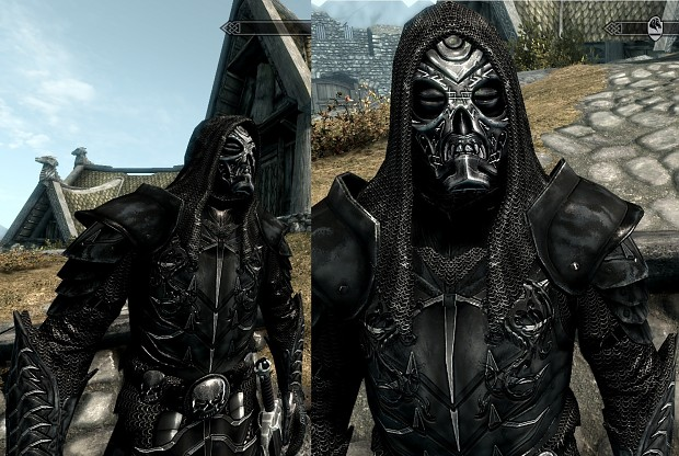 Razor Scale Armor and Cannibal Mask