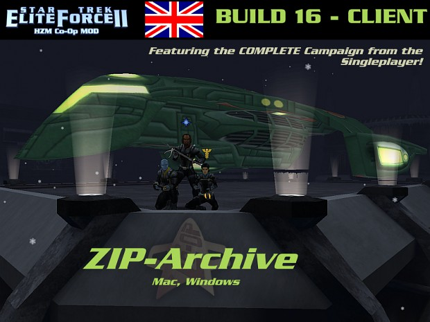HZM Co-op Mod CLIENT Build 16 - ZIP English