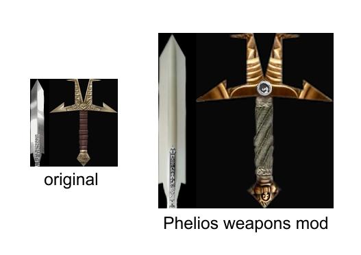 Phelios Weapons MOD
