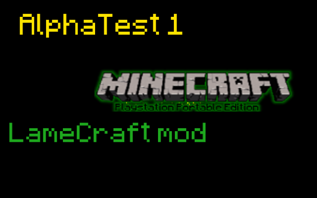 MineCraft PSP Edition - AlphaTest 1