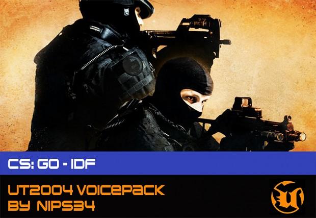 CS: GO - IDF Voice Pack