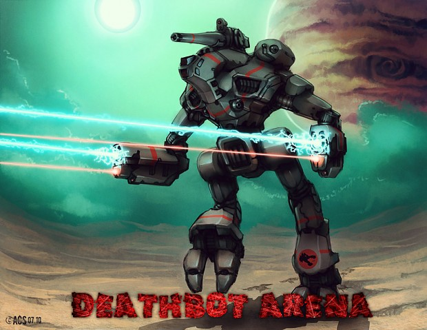 Deathbot Arena Pre Alpha v1.0