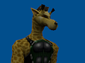 Barnes the Mercenary Giraffe