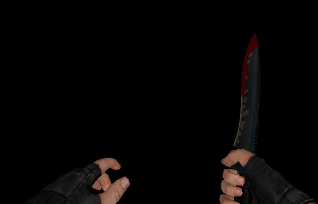 Bloody Knife + Addon DB Skin Tutorial