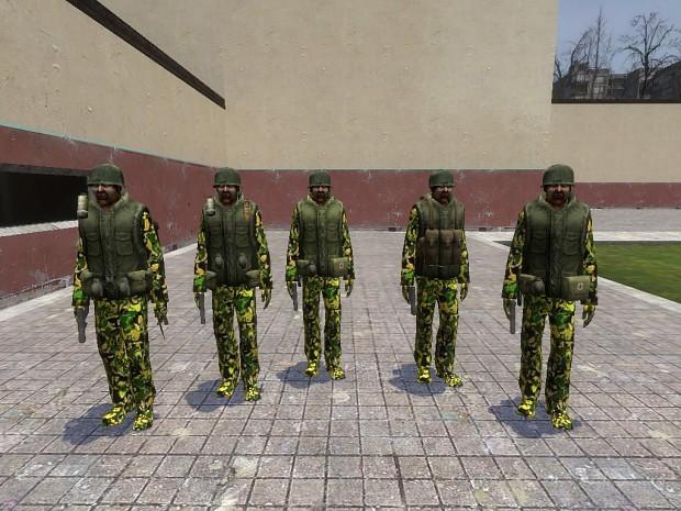 U.S Army Troopers
