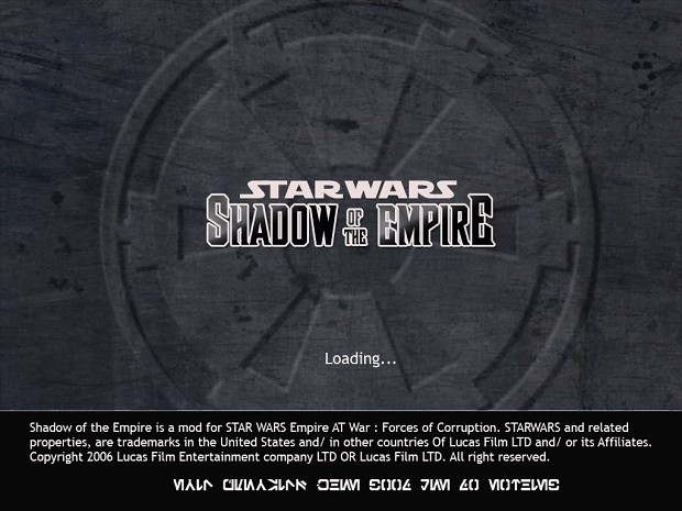 SHADOW OF THE EMPIRE 1.0B