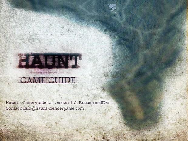 Haunt Walktrough