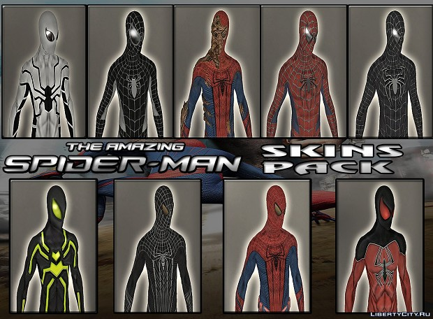 Spiderman ped pack by Cyrax