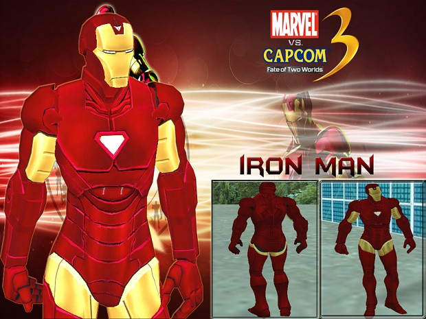 Iron Man ped by Cyrax