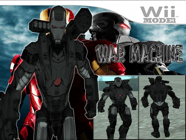 WAR MACHINE BY CYRAX