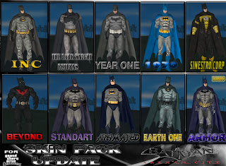 BATMAN SKIN PACK BY CYRAX