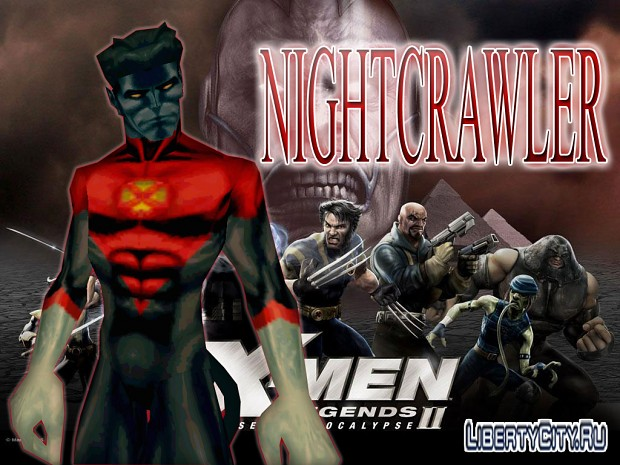NIGHTCRAWLER BY CYRAX