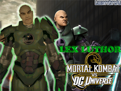 LEX LUTHER ARMOR BY CYRAX