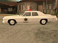 HAZZARD POLICE CAR FROM PILOT SHOW BETA 1