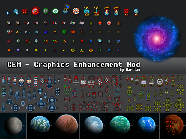 Graphics Enhancement Mod (GEM) v2.4