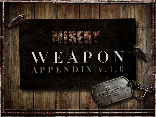 Weapon Appendix