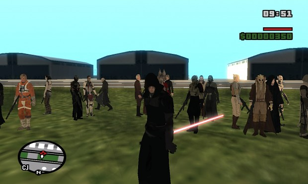 Jedi/Sith Pack (skins and lightsabers)