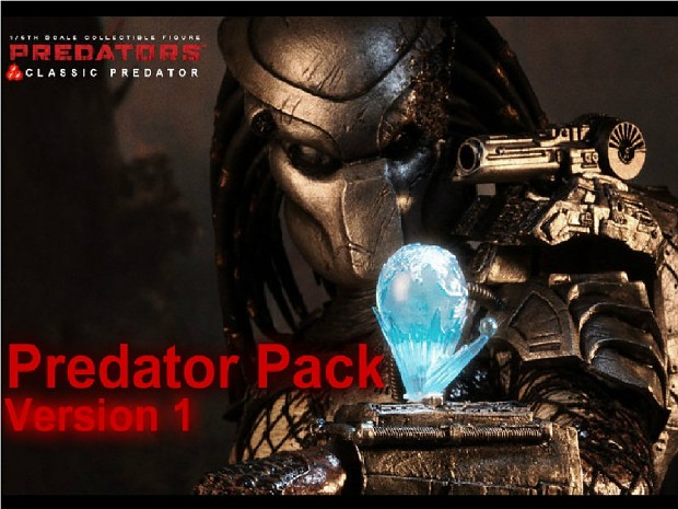 Predator Pack with Cloak and Others