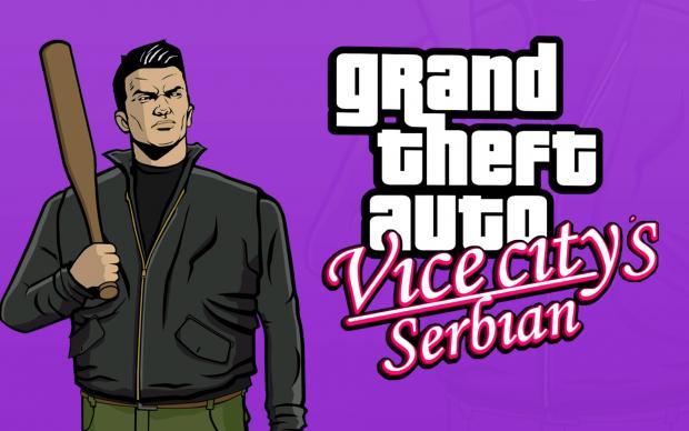 Vice City's Serbian background