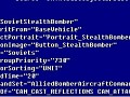 Soviet Stealth Bomber code file