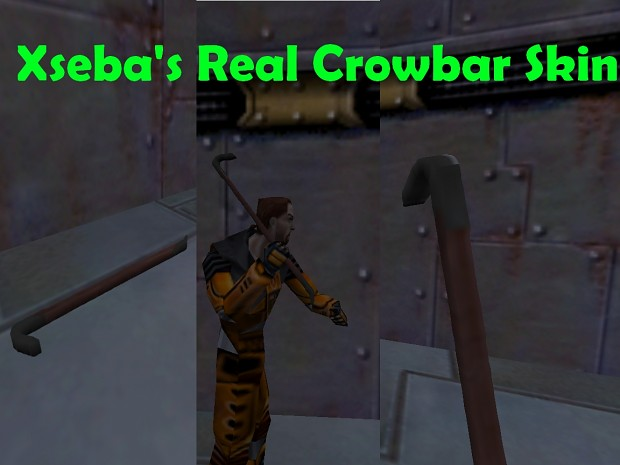 New Crowbar Model, With P, V and W Models!