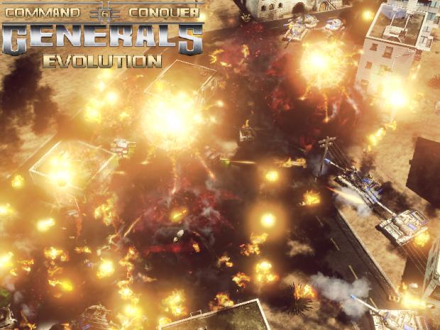 C&C Generals Evolution - Unit Demo RC1