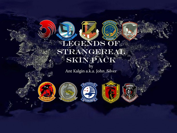 Legends of Strangereal skin pack part one