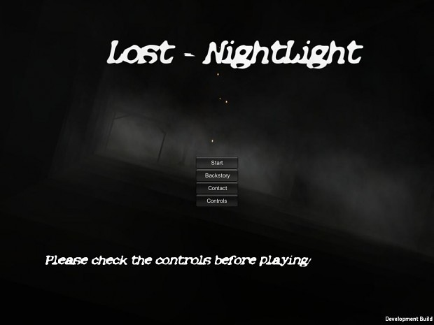 Lost - NightLight - Updated demo