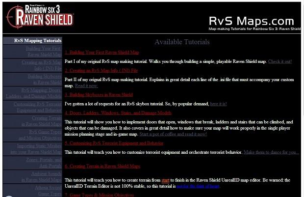 RVSMaps Tutorial