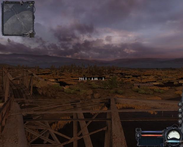 S.T.A.L.K.E Clear Sky view distance mod